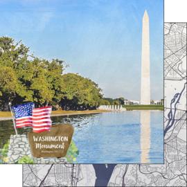 Scrapbook papier Washington DC