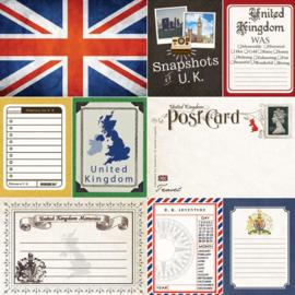 United Kingdom - Journal - scrapbookpapier