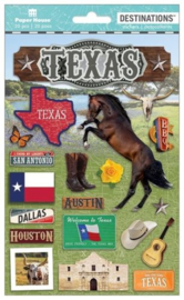 Stickers Texas travel