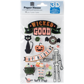Wicked Good - 3D stickers