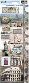 Rome scrapbook stickers - Via del Corso - Sticky pix Paper House