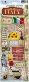 Rondreis door Italië - decoratie stickers