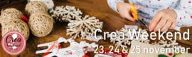 12 november 2018 - Het Kerst CreaWeekend in Rijswijk komt eraan