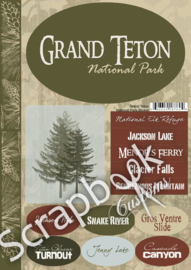 Grand Teton NP Cardstock stickers