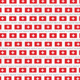Zwitserland Adventure Border - thema papier - 30.5 x 30.5 cm