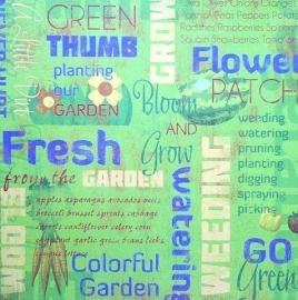 Planting our garden papier 30.5 x 30.5 cm