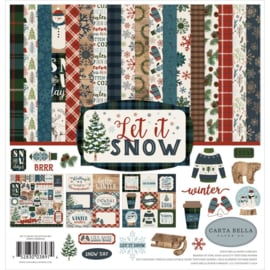 Scrapbook papier pakket Winter