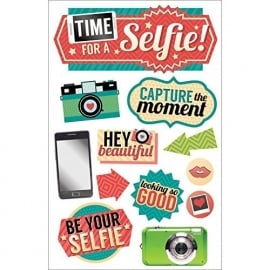 Selfie Time! - The paper house productions 3d stickers
