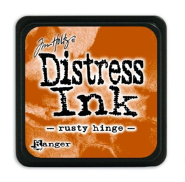 Mini  Distress inkt - Rusty Hinge - waterbased dye ink / inkt op waterbasis - 3x3 cm