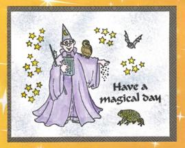 2 maart 2016 - een magische start van de dag