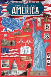Stickers Travel Amerika