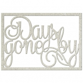 Days gone by decoratie voor scrapbook