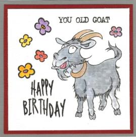 Get your goat- A5 clear stempel set 15 x 20 cm