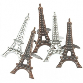 Parijs Eiffeltoren hobby splitpennen in 3 tinten 12 stuks