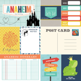 Anaheim Memories Journal - papier - 30.5x30.5 cm