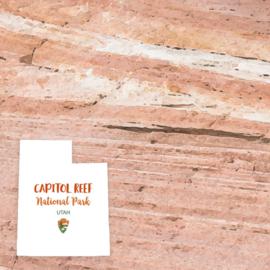 Capitol Reef National Park / Utah - scrapbook customs - 12x12 inch