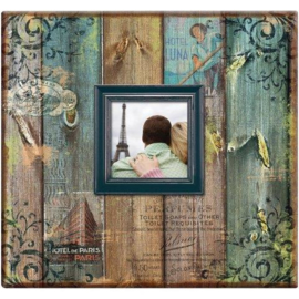 Scrapbook album Vintage look