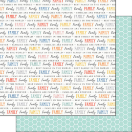 Family quotes - 30.5 x 30.5 centimeter