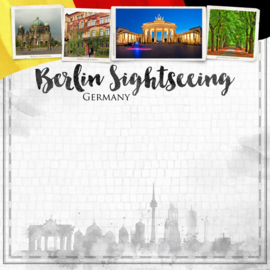Berlin City Sights  - 30.5 x 30.5 cm
