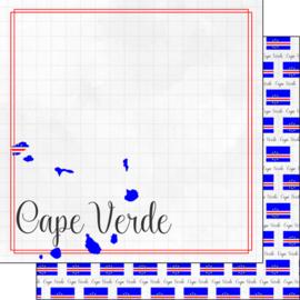 Scrapbook papier Kaapverdië