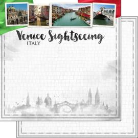 Venice  Sightseeing - scrapbook papier
