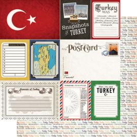 Turkey - Journal - scrapbookpapier