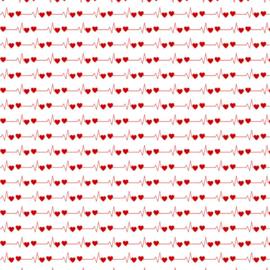 Thema papier Nurse - dubbelzijdig 30.5 x 30.5 centimeter