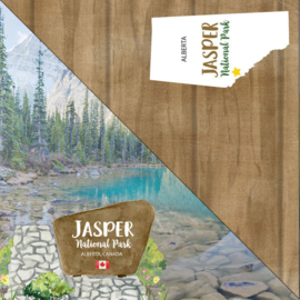 Jasper National Park - Alberta Canada - dubbelzijdig scrapbook papier
