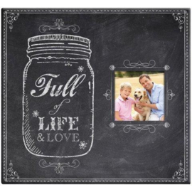 Scrapbook album Full of Life and Love