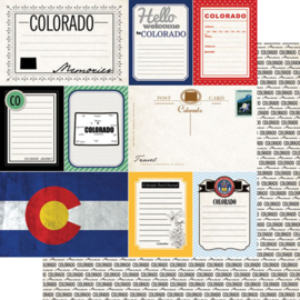 Colorado - Journal - scrapbookpapier
