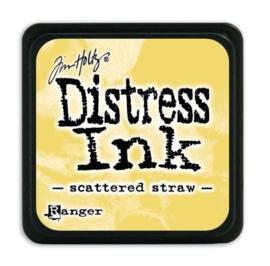 Mini  Distress inkt - Scattered Straw - waterbased dye ink / inkt op waterbasis - 3x3 cm