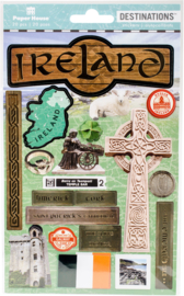 Stickers Ireland travel