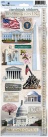 Washington scrapbook decoratie stickers - Sticky pix - Paper House