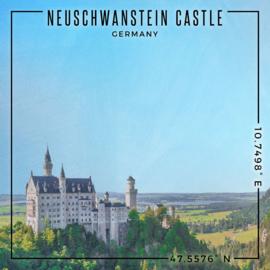 Neuschwanstein Castle  - Germany 30.5 x 30.5 cm scrapbook paper