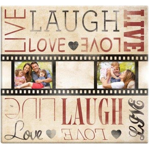 scrapbooking album Live Laugh & Love