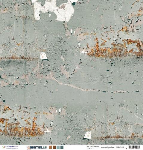 Behang/verf afkrabben - 30.5 x 30.5 cm