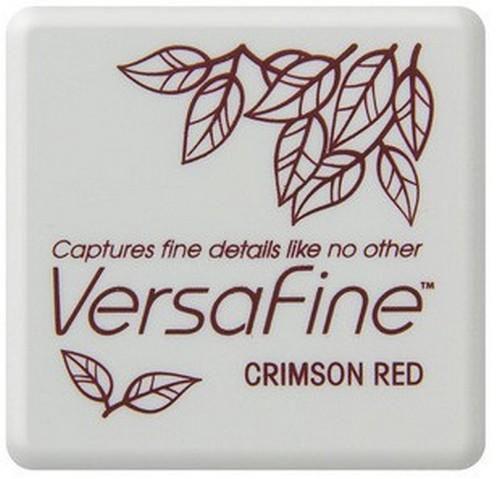 Crimson Red - Rood stempelkussen met watervaste inkt