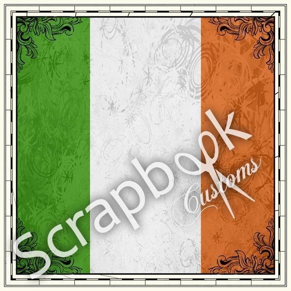 Ireland sightseeing - papier 30.5 x 30.5 cm