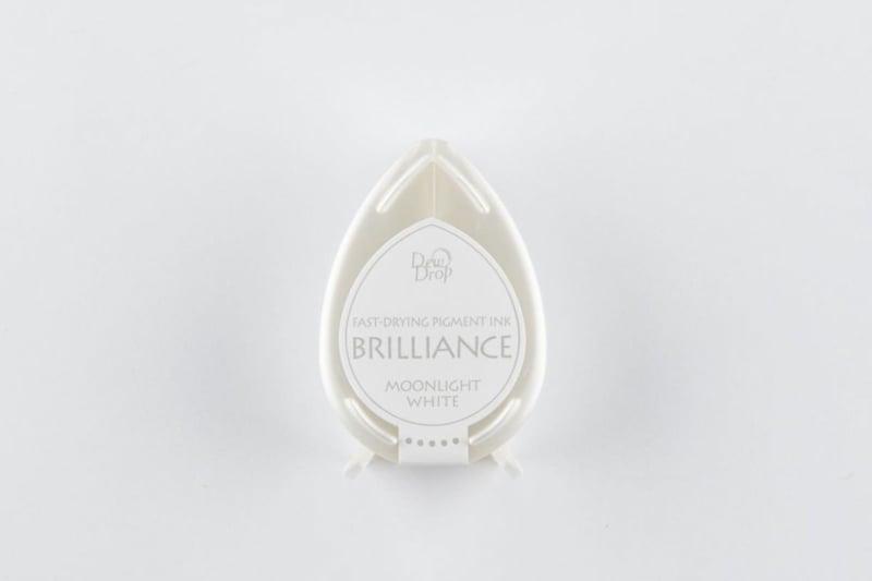 Brilliance Moonlight white Dew Drop stempelinkt