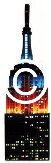 Empire State Building - stans decoratie  - 3x10