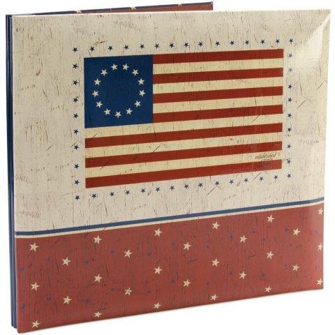 Foto scrap album USA met 10 insteekhoezen