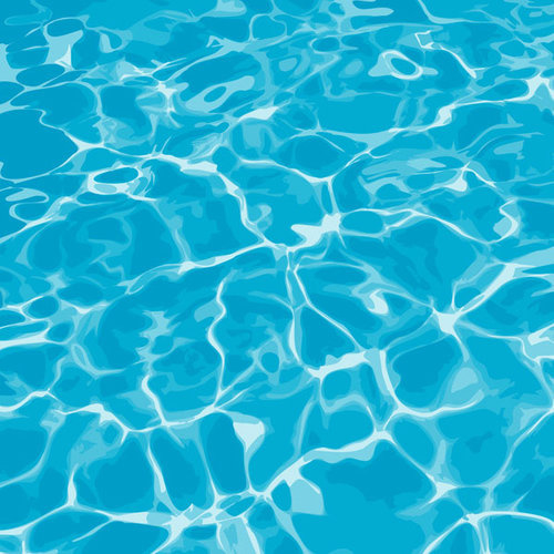 Pool water - 30,5 x 30,5 cm scrappapier