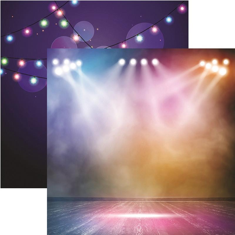 Light it up - podium spotlight  papier 30.5 x 30.5 cm