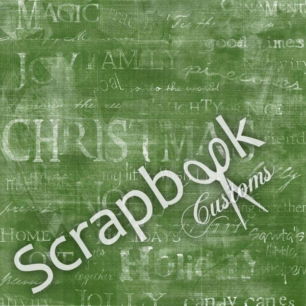 Winter Words - scrapbookpapier