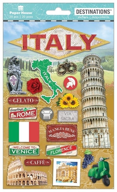 Stickers Italië travel