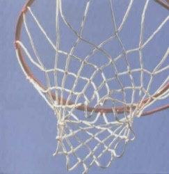 Basketbal net scrapbook papier 30.5 x 30.5 cm