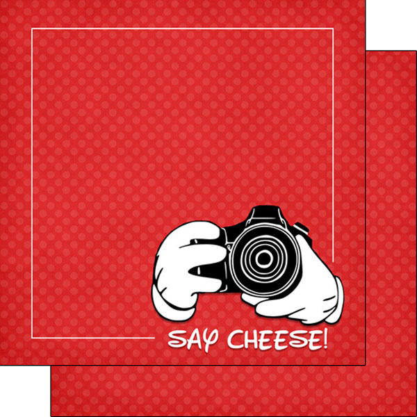 Magical Say Cheese - dubbelzijdig thema papier - 30.5x30.5 cm