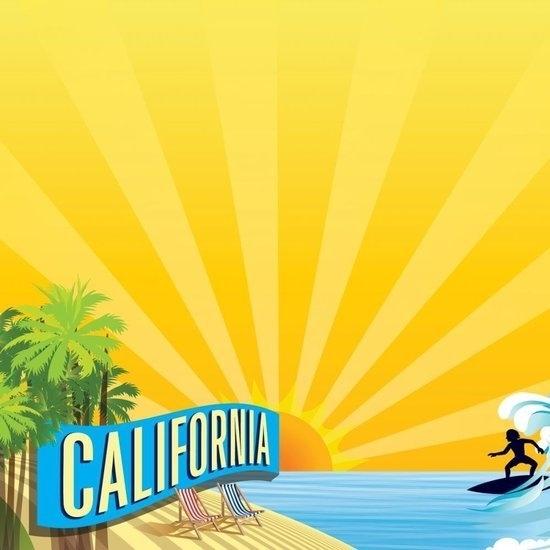California State Line serie papier 30.5 x 30.5 cm