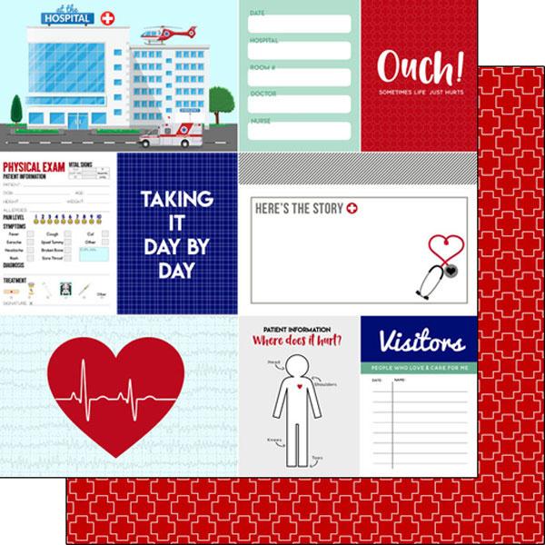 Thema papier Patient Journal - 30.5 x 30.5 centimeter