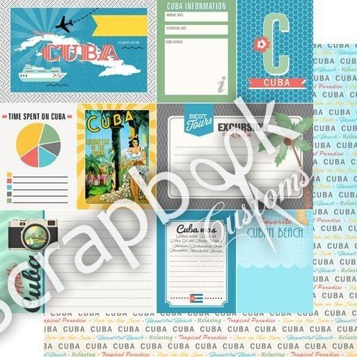 Cuba - Tropical DS Journal - 12x12 Paper